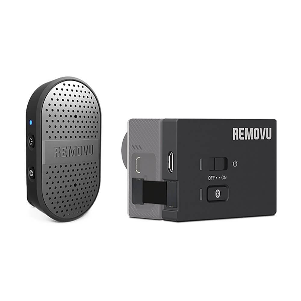 Removu RM-M1+A1 Wireless Microphone for GoPro
