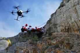 ricerca e salvataggio da drone
