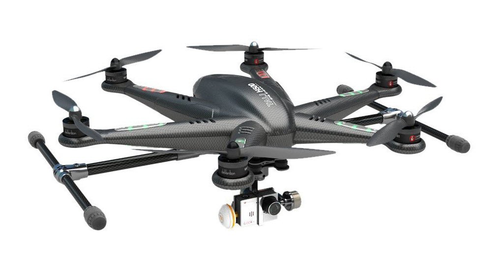 walkera h500 hexacopter