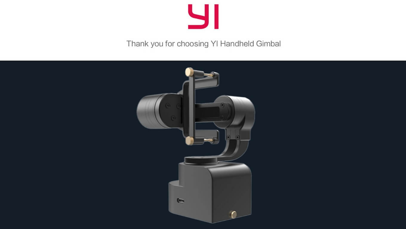 Yi 4K Action Camera Handheld Gimbals