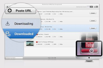 AllMyTube per Mac key feature