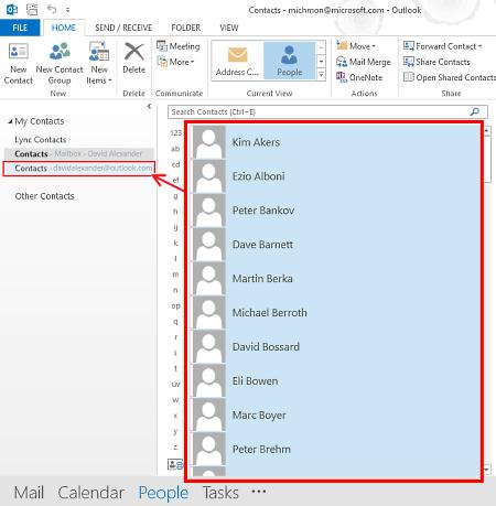 Come passare i contatti da Windows Phone a iPhone