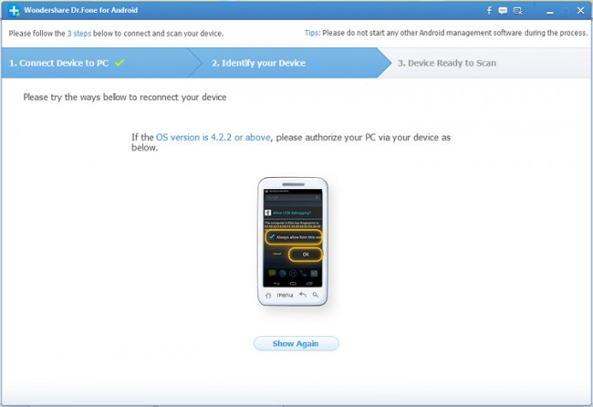 restore android phone
