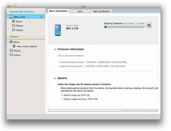 itunes to galaxy s7