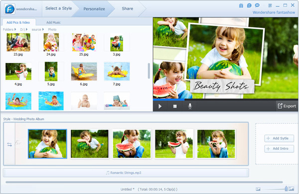 imovie slideshow make