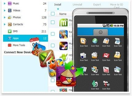 MobileGo per Android Pro (Mac) key feature