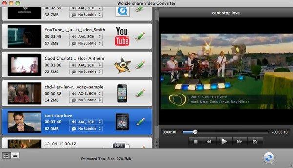 modifica mpg in iMovie