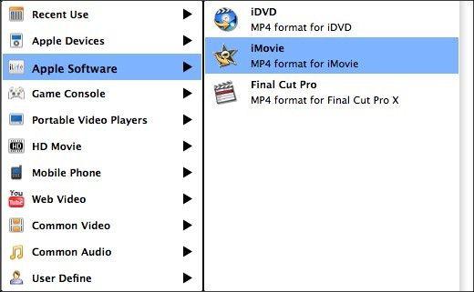 mpg in iMovie converter