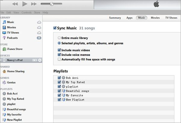 how to make an playlist on itunes apple ipod