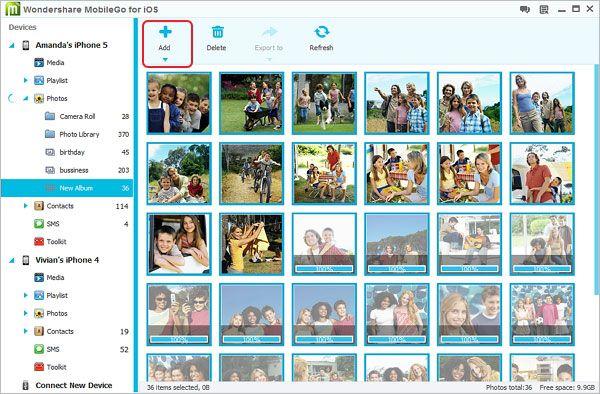 copiare foto da iphone