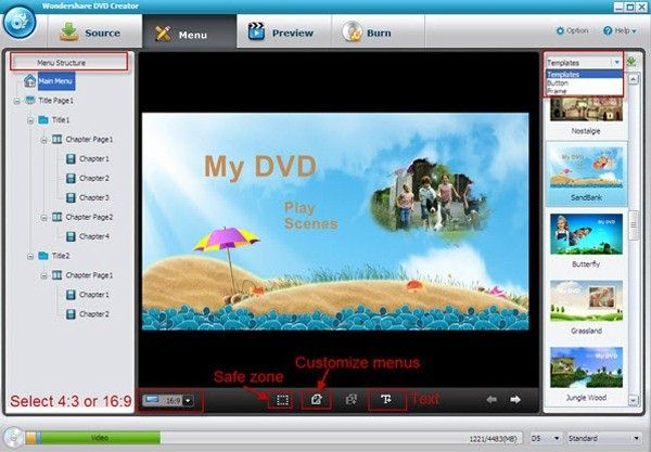 dvd flick menu templates download - i 10 migliori dvd creator gratuiti per windows