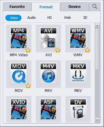 AVI in MP4 converter