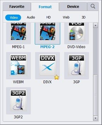 converting mp4 in MPEG