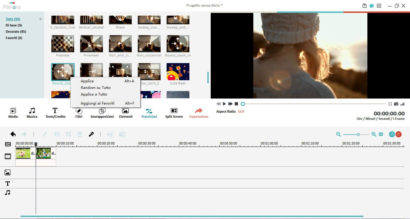 unire video files