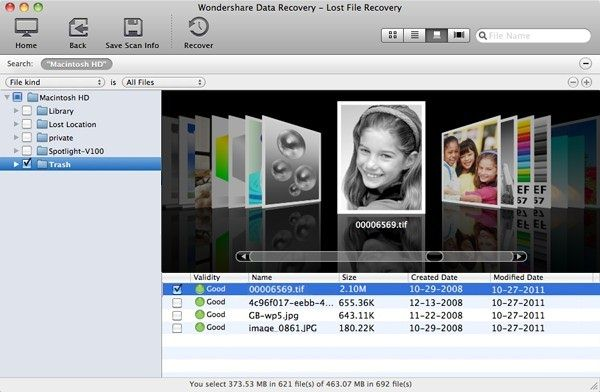 photo recovery in mavericks