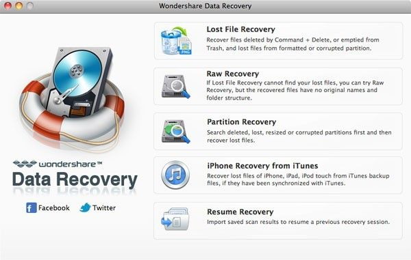 photo recovery for mavericks
