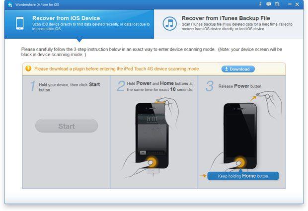 Recuperare Foto da iPod touch