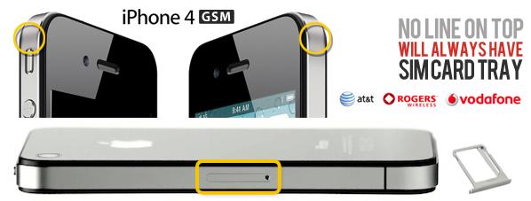 iphone 4 gsm vs iphone 4 cdma