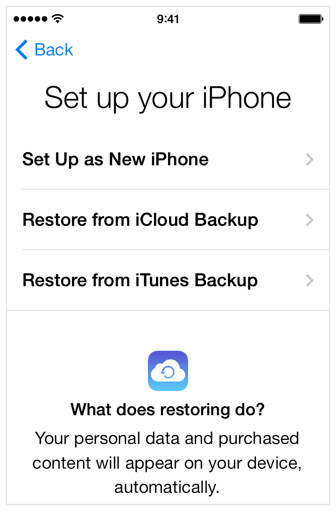 Cos'è il ripristino di un iPhone e come ripristinare iPhone dal Backup iTunes e