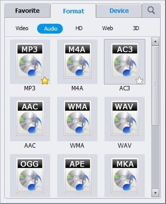 convertire AVCHD in MPEG