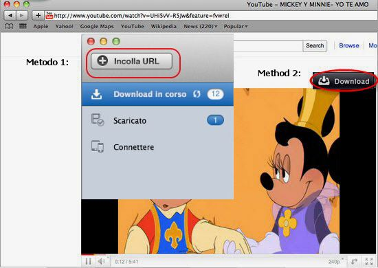 import youtube videos to imovie